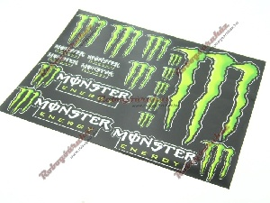 MATRICA SZETT MONSTER ENERGY (NAGY) 1.  A3 (297*420